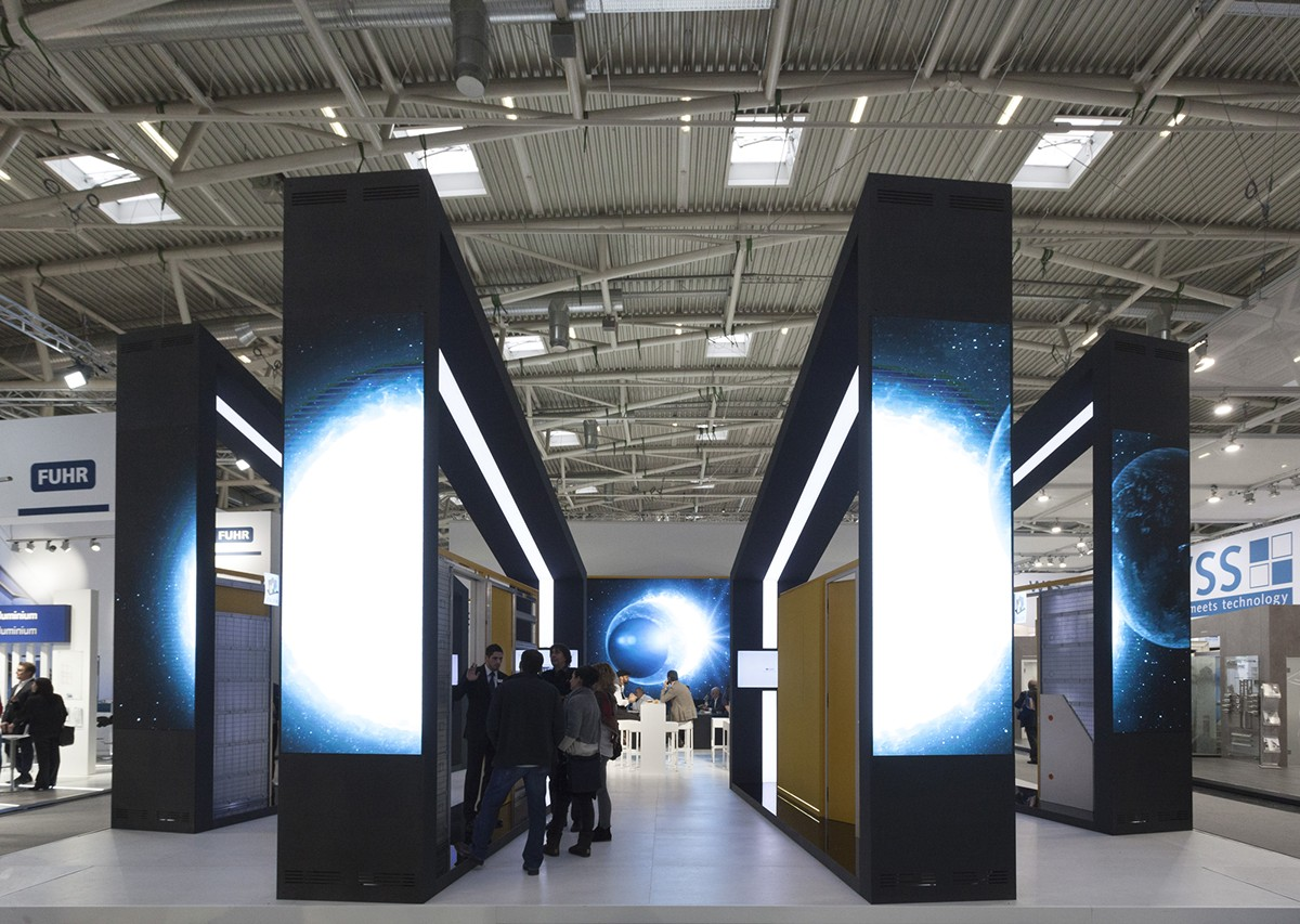 Stand Eclisse al BAU di Monaco di Baviera