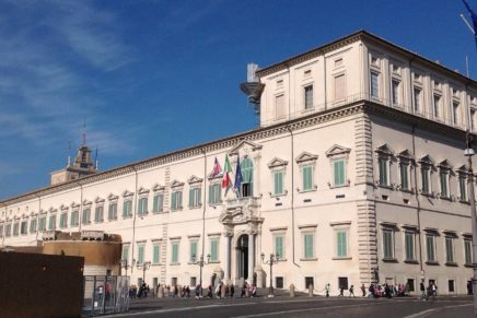Laterlite per il Palazzo del Quirinale a Roma