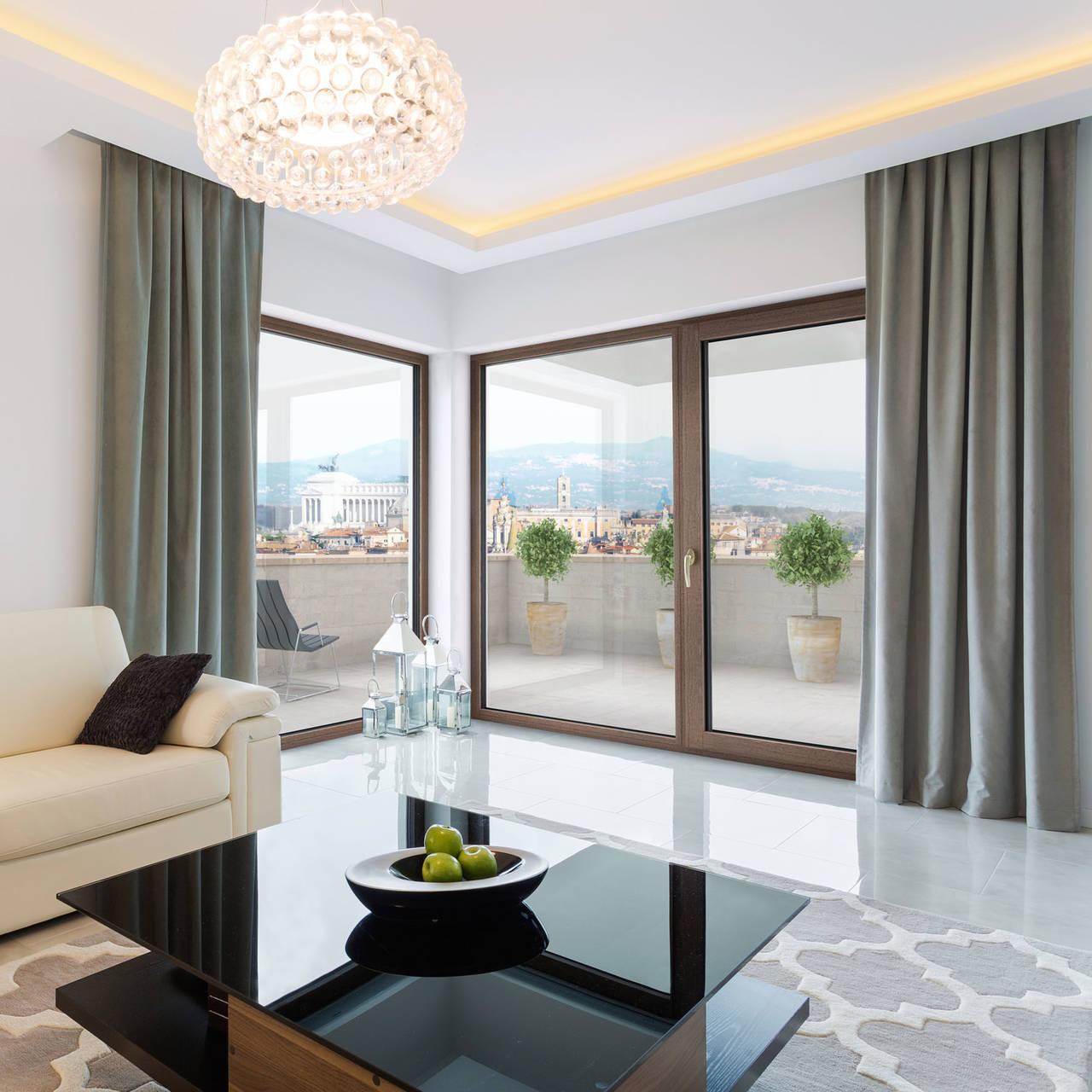 Internorm nuove finestre e portoncini arketipo for Finestre in alluminio
