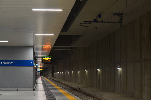 Helvar per il Malpensa Airport