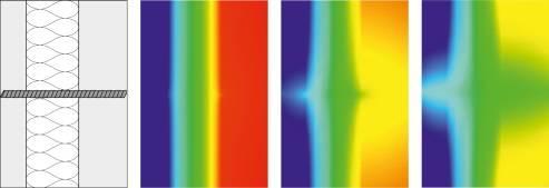 Una termografia mostra l'efficacia di Schöck Thermoanker sui ponti termici