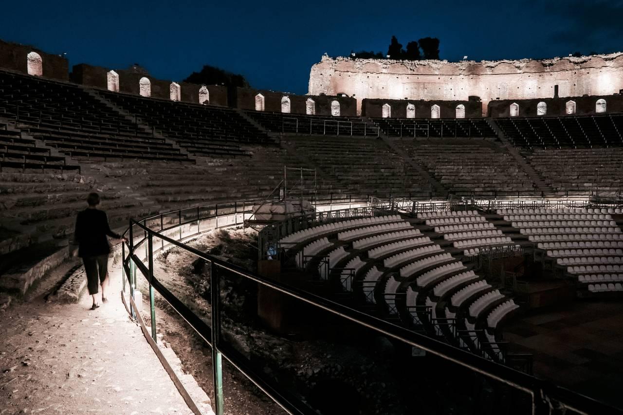 iGuzzini per il Teatro Greco di Taormina