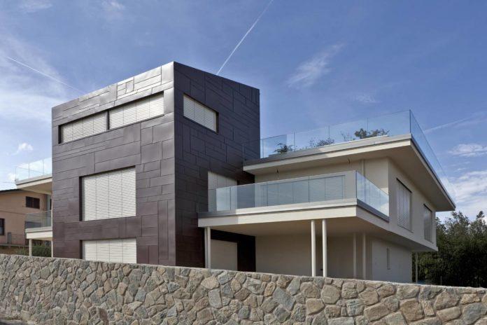 Esempio di abitazione costruita con il sistema Residenz di Rubner