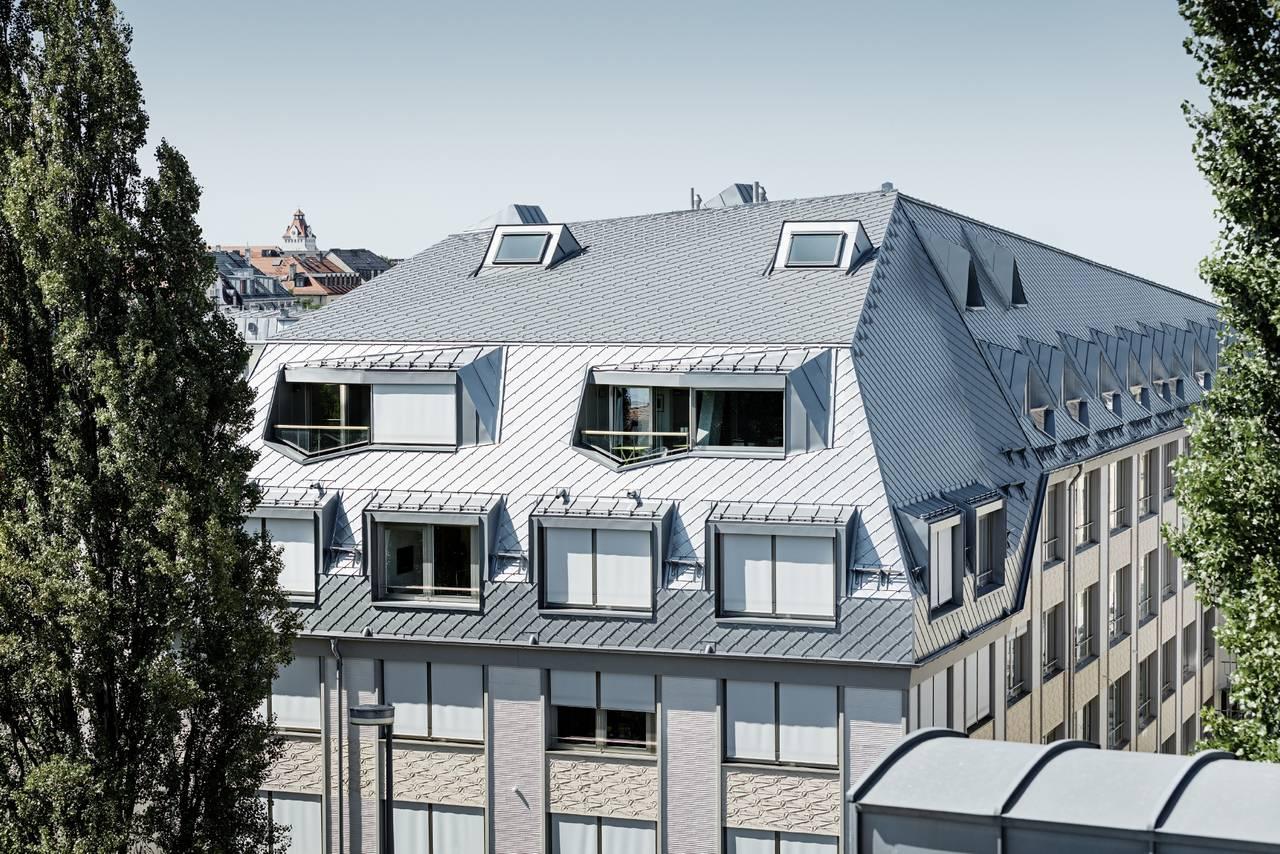 Prefa per un edificio residenziale e commerciale a Monaco