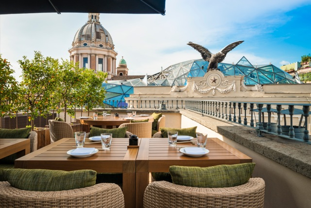 Awesome Ristorante Terrazza Roma Contemporary - Design Trends 2017 ...