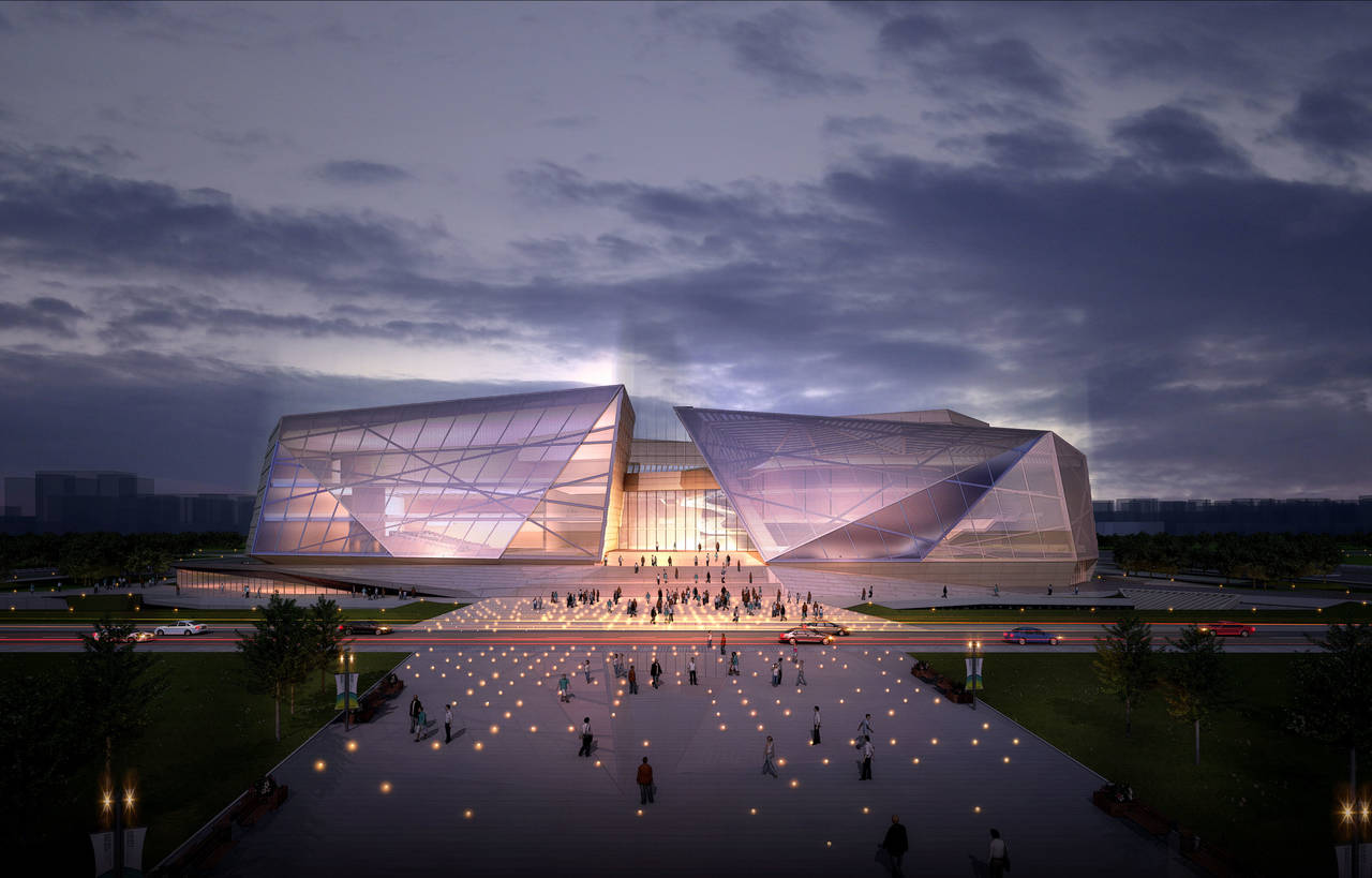 Architecture Design of Zhengzhou Grand Theater