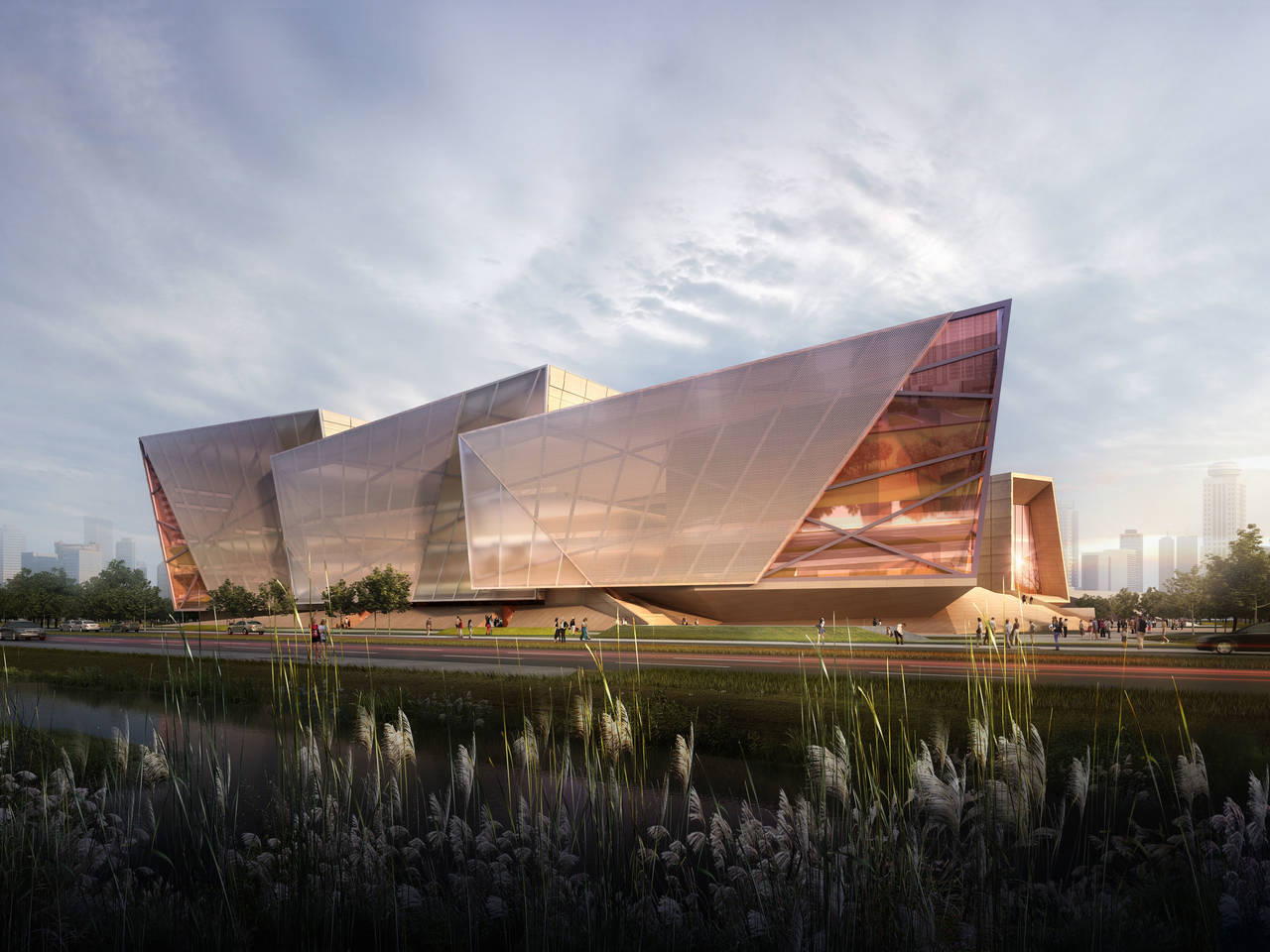 Zhengzhou grand theater henan china architecture for It architecture design