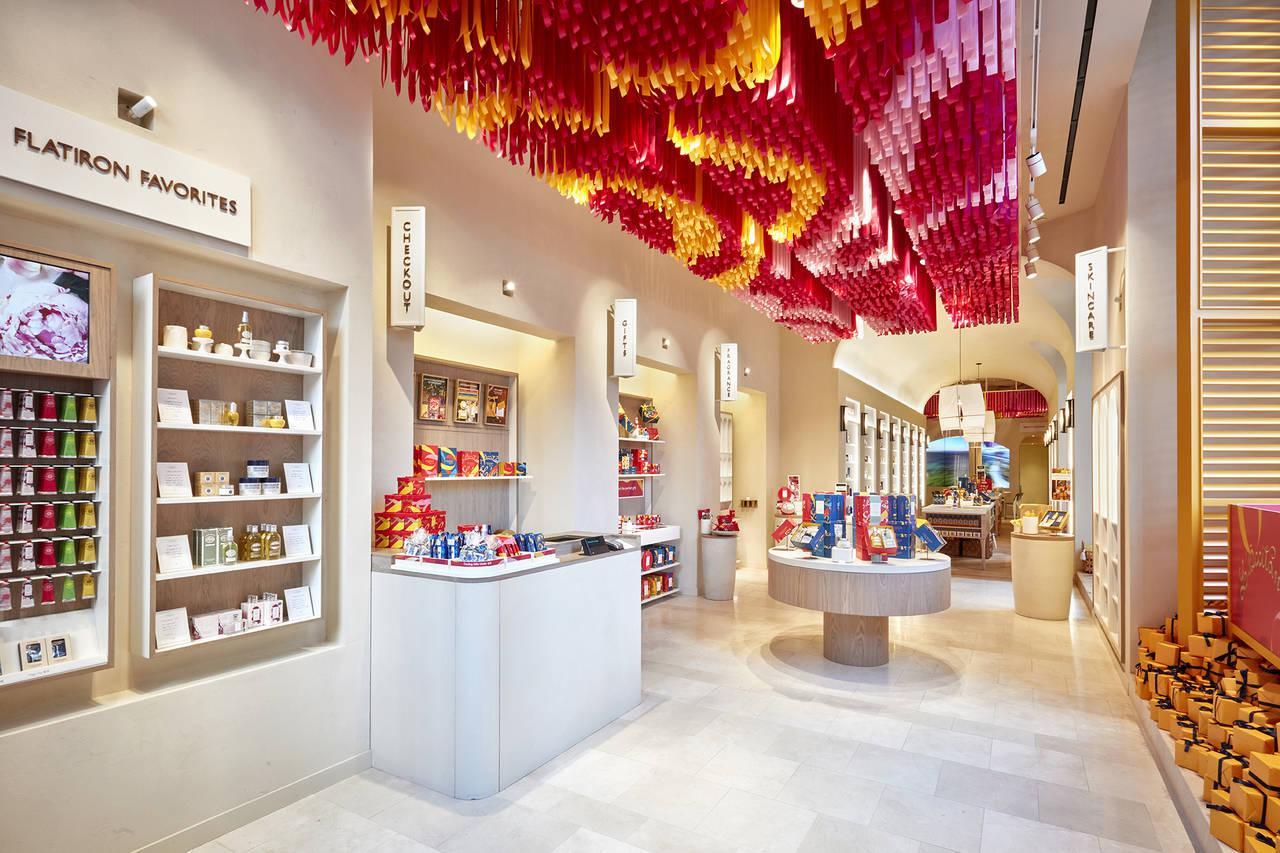 """Reggiani per lo store """"L'Occitane en Provence"""" a New York"""