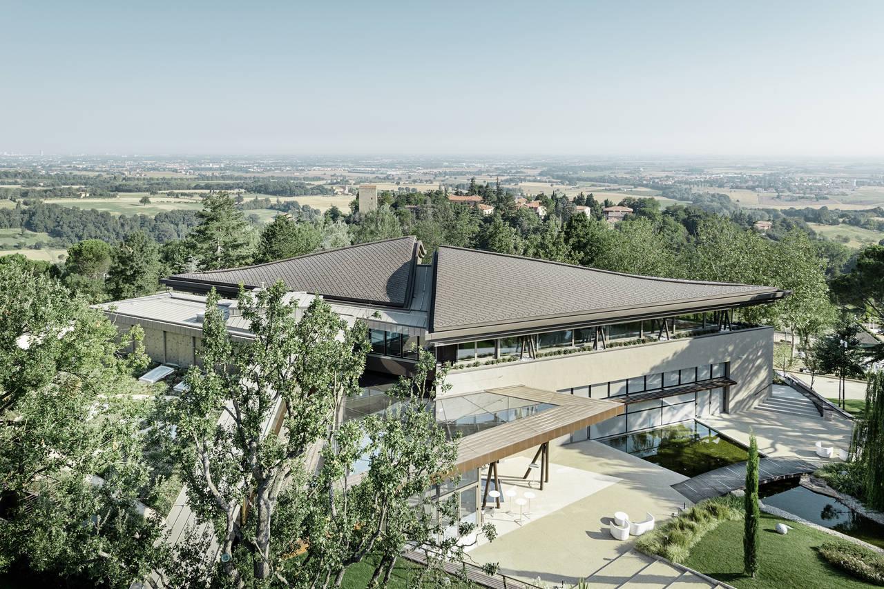 Prefa per il Resort La Varignana a Castel San Pietro (BO)