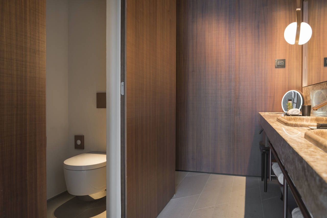 Sala bagno suite con Aquaclean