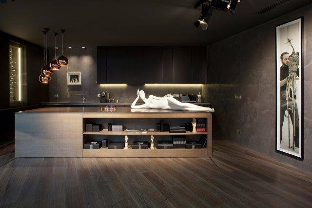 Ideal Work per lo showroom Bonaveri a Milano