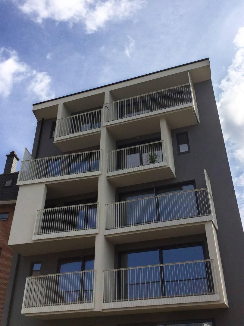 Sul fronte retrostante ogni unità abitativa si affaccia sul giardino, ognuna con una propria terrazza