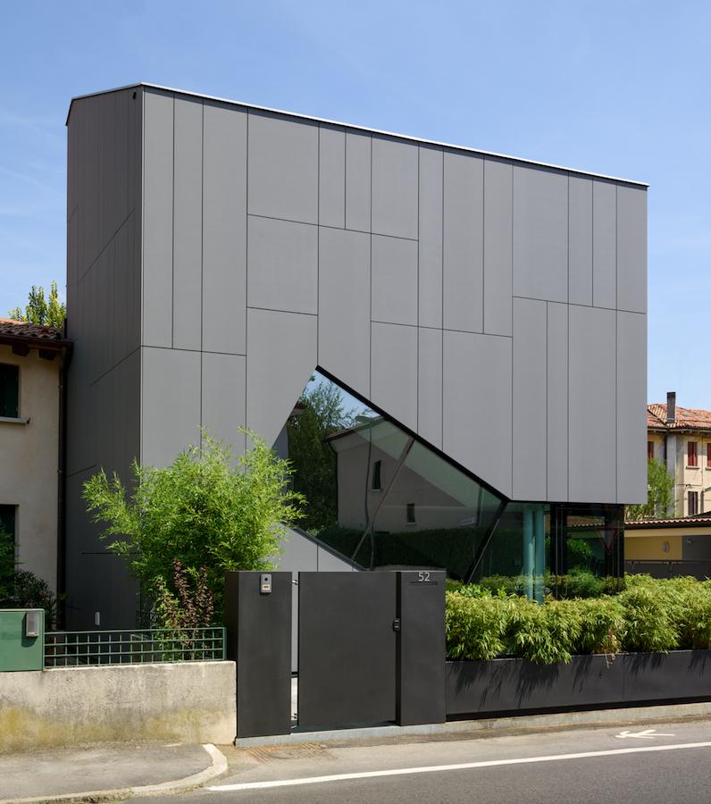 Lapitec per un edificio residenziale a Treviso
