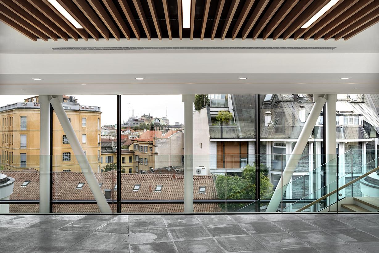 Edificio per uffici a milano l22 arketipo for Uffici a milano