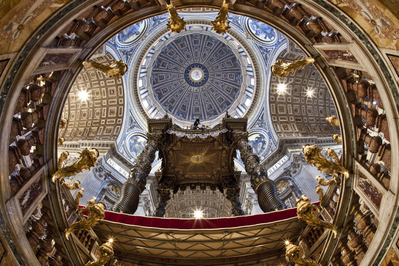 Osram per la basilica di san pietro a roma arketipo