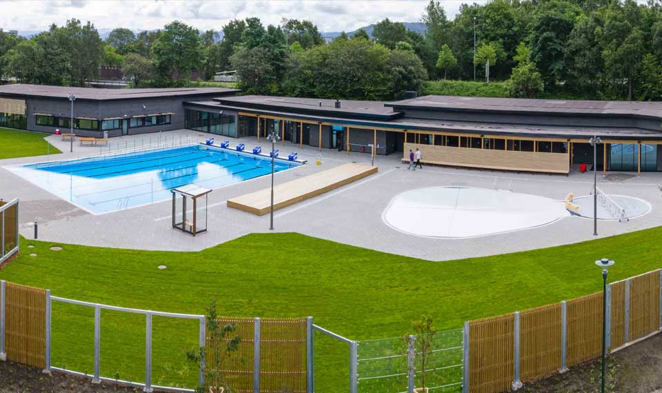 Myrtha Pools per il centro Gamlingen a Stavanger (Norvegia)