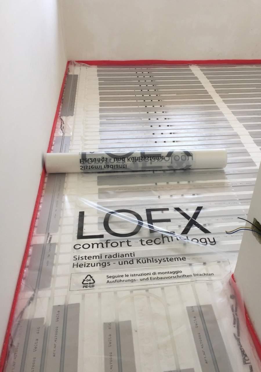 Isolante LOEX per l'OperA di Pescara