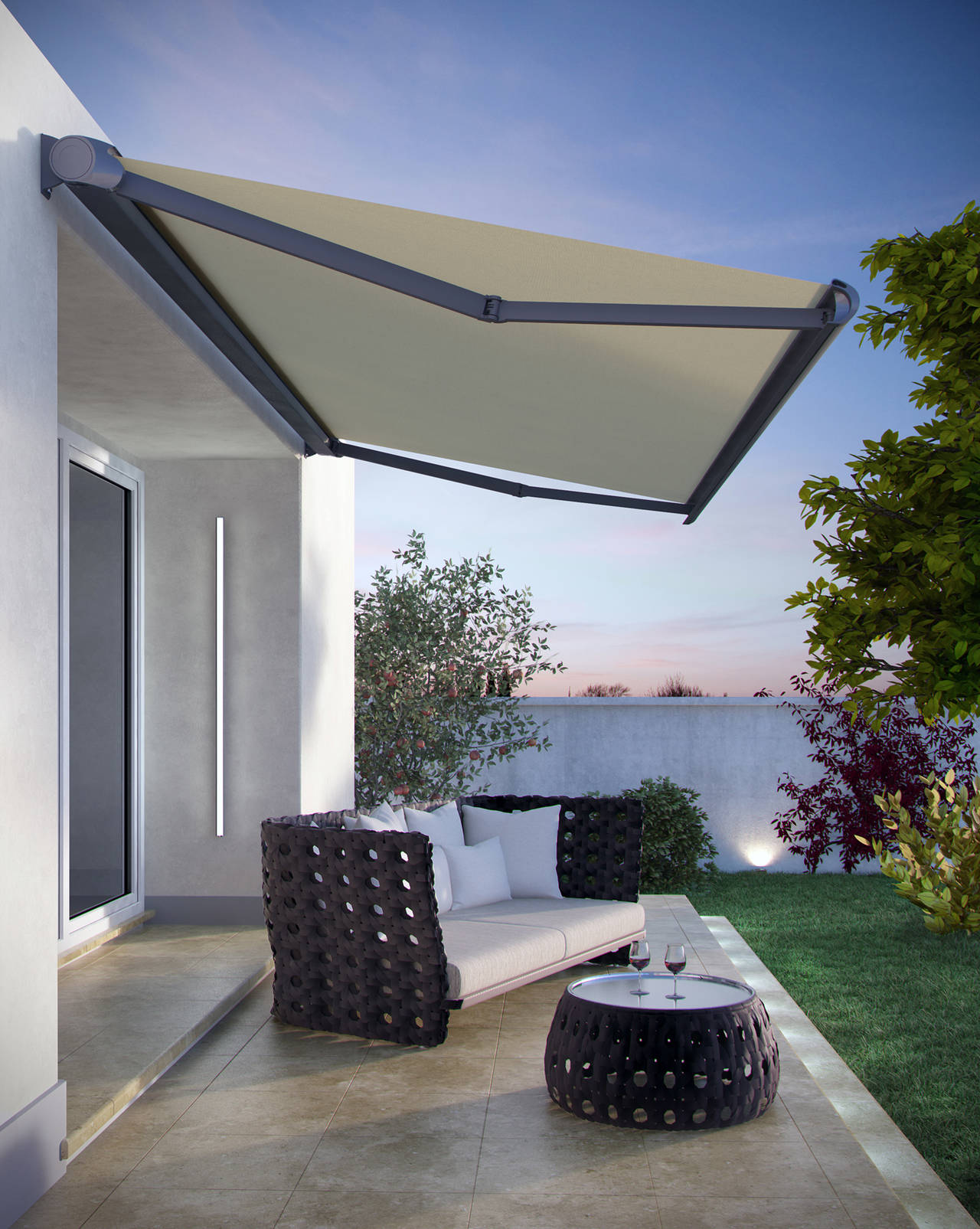 Tenda a bracci R93 by BT Group