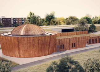The Ethiopian Orthodox Tewahedo Church in Stockholm, designed by Belatchew Arkitekter