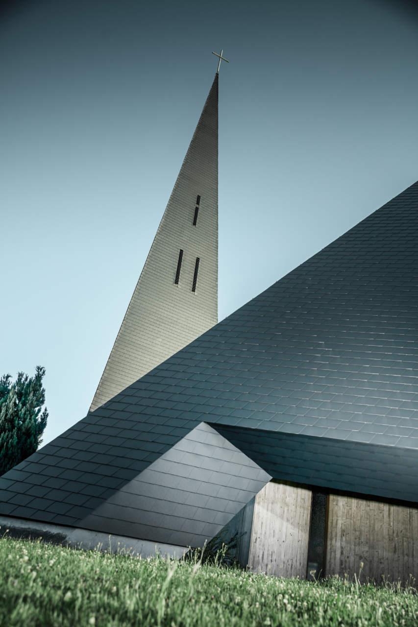 Prefa per la Chiesa cattolica di Langenau