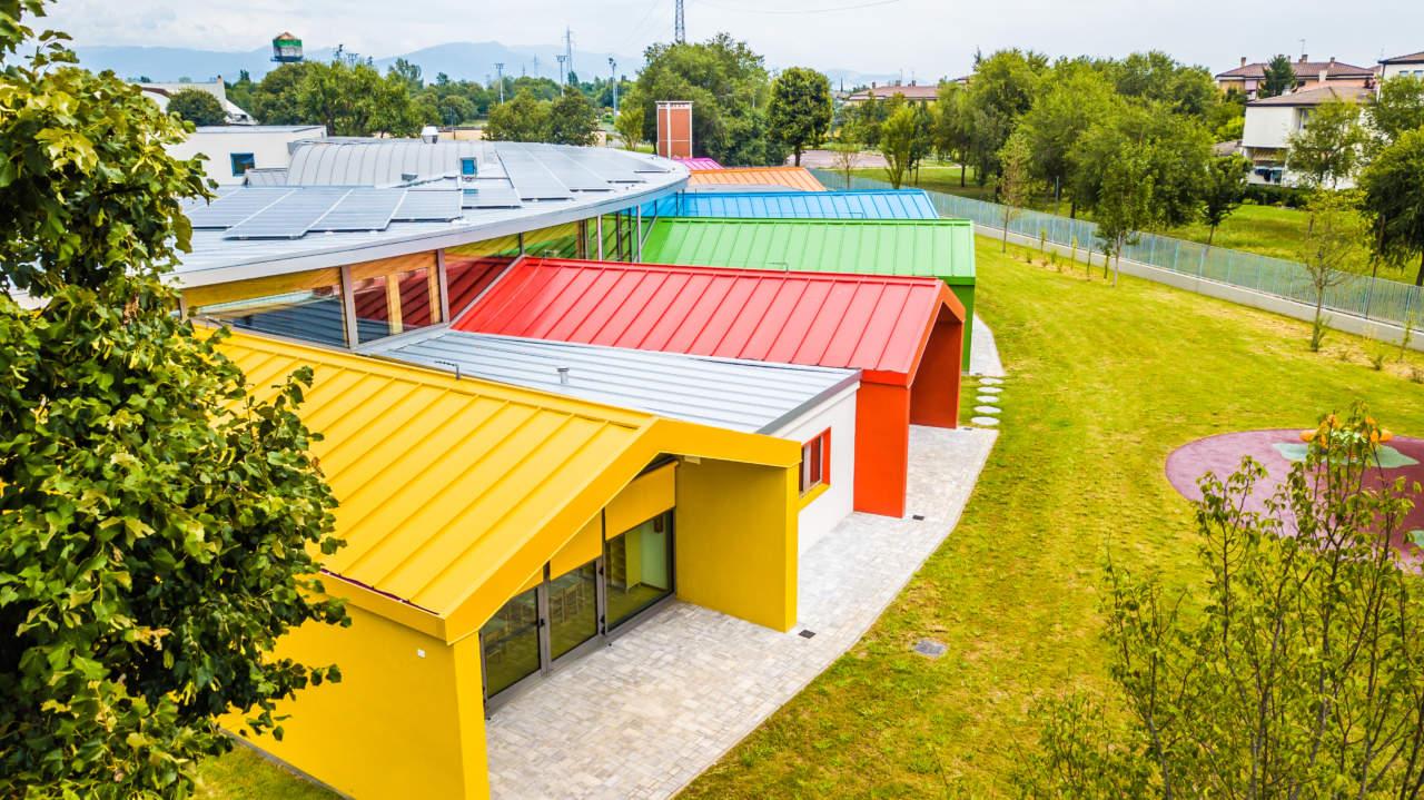 Alubel per la scuola materna di Bagnolo Mella (BS)