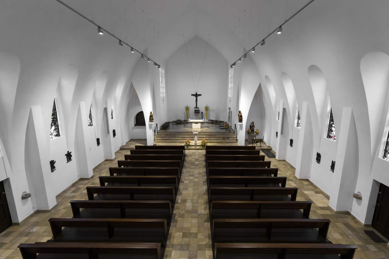 Erco per la chiesa santa maria nascente a grevenbroich - Erco finestre ...