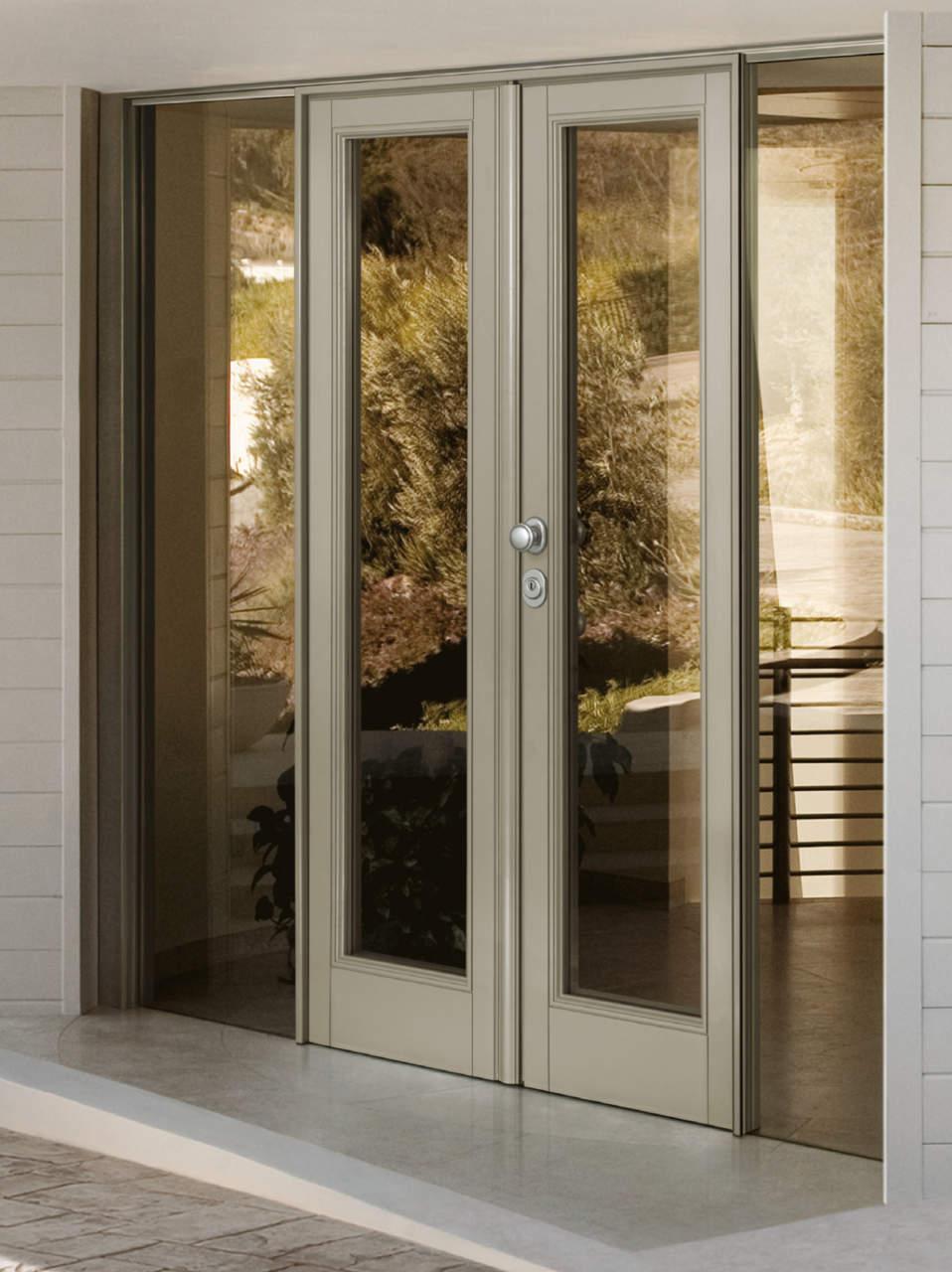 Porta blindata vitra by dierre arketipo - Porta con vetro ...