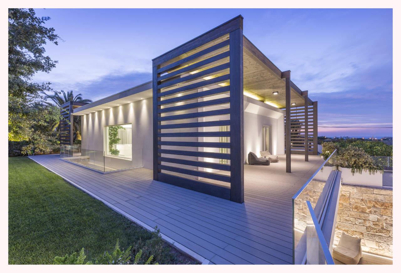 rubner haus per villa miriam a monopoli ba arketipo. Black Bedroom Furniture Sets. Home Design Ideas