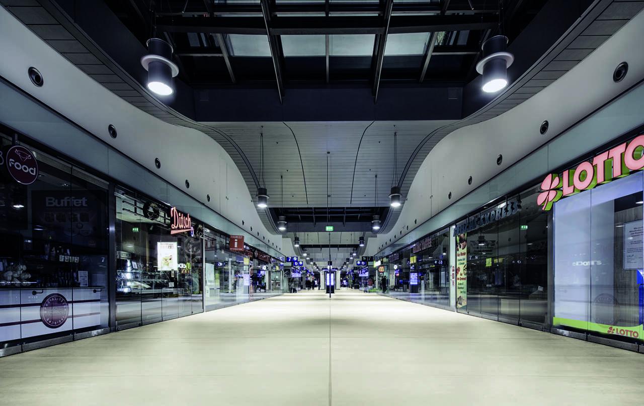 Laminam per la stazione ferroviaria di Postdam (Berlino)