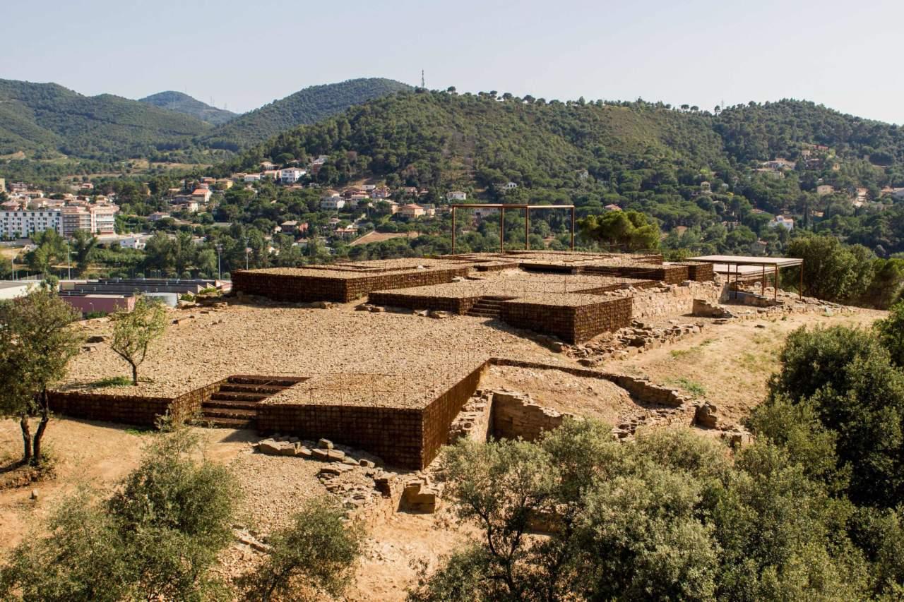 Rovine romane di Can Tacò - Arch. Toni Girones