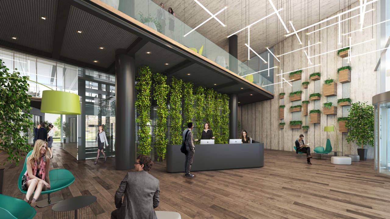 Progetto CMR firma il primo edificio in costruzione a Milano Santa Giulia Sud