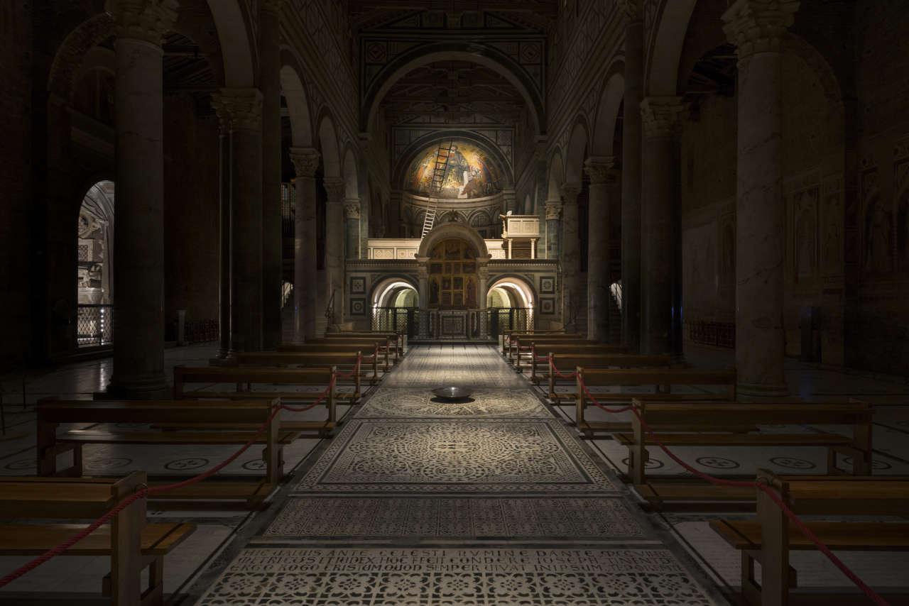 Exenia per la basilica di san miniato al monte a firenze arketipo