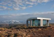 """La casa del desierto en Black Mirror"". ®Guardian Glass"