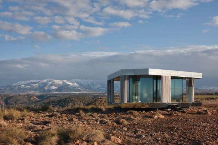 """""""La casa del desierto en Black Mirror"""". ®Guardian Glass"""