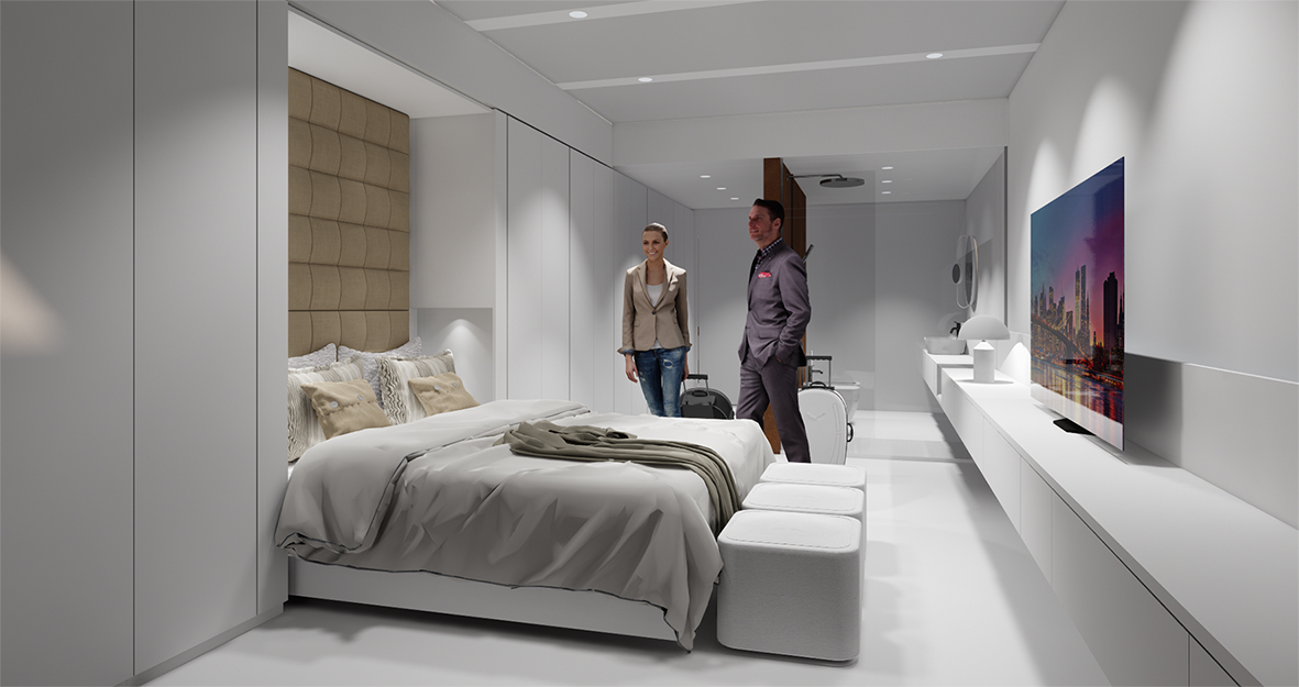 Wip Presenta Un Concept Innovativo Di Camera D Albergo Al Sia Hospitality Design Arketipo