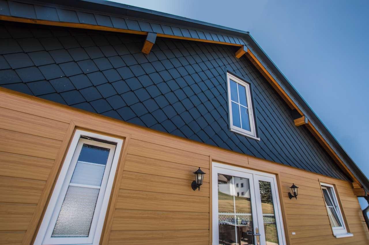 Colori Per Facciate Case nuovi colori per le doghe prefa effetto legno   arketipo