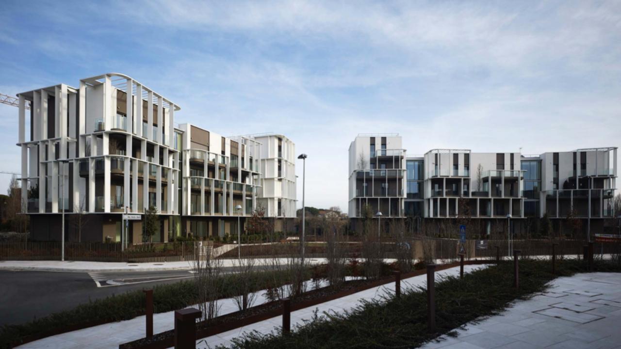Alessandro Bucci Architetti residenze nell'ex area fiera di rimini - alessandro bucci